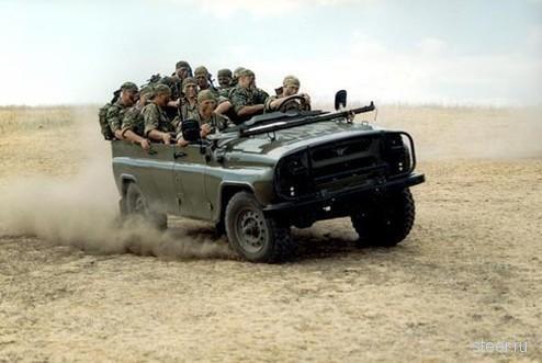 Уаз 469 внедорожник российской армии